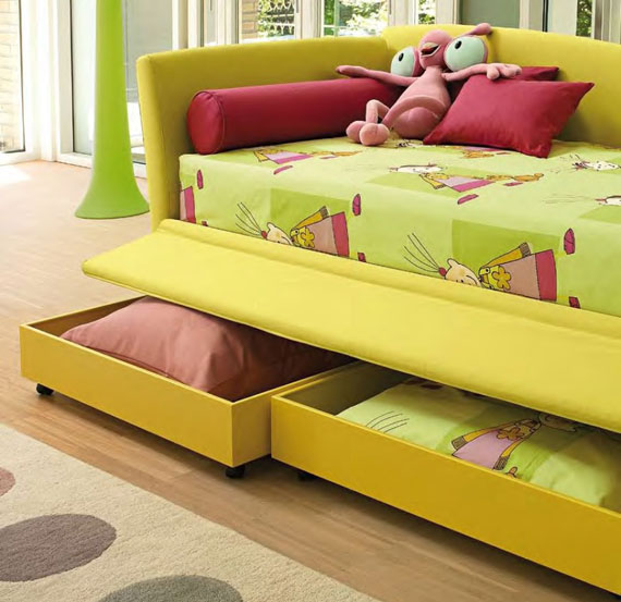 Double Bed For Teenagers With Sofa