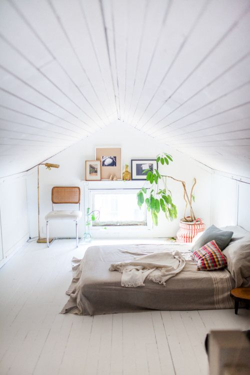 Fresh small attic bedroom ideas pictures for Attic bedroom ideas