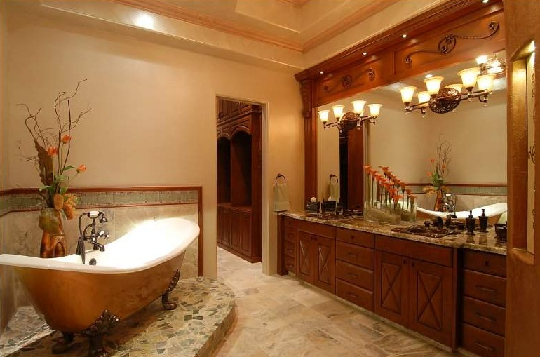 Great Bathroom Remodeling Ideas For Small Master Bathrooms With Lighting Pictures 03 Small ...