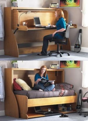 Great Small Bedroom Decorating Ideas Space Saving With Built In Desk