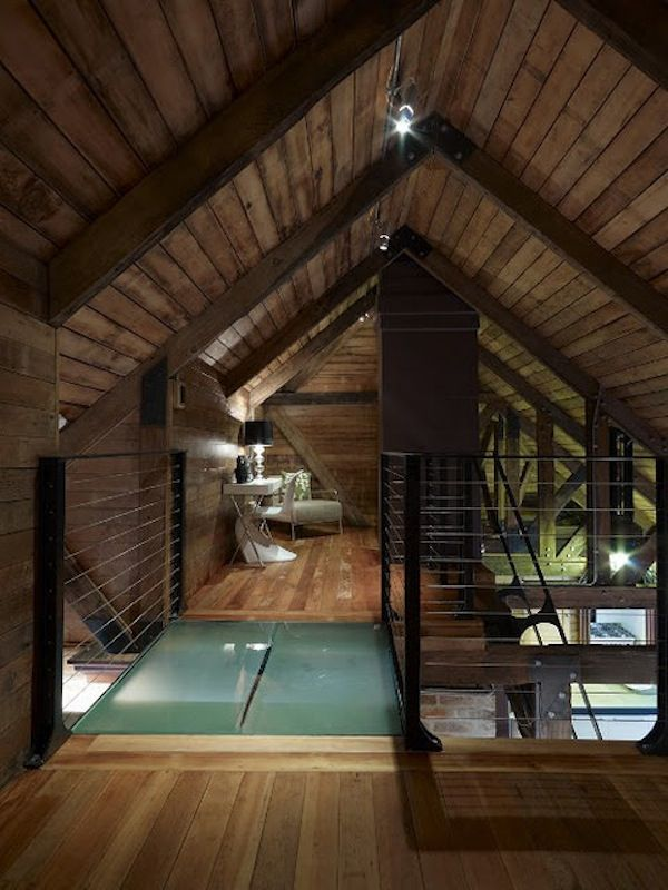 Great Wooden Small Attic Bedroom Pictures