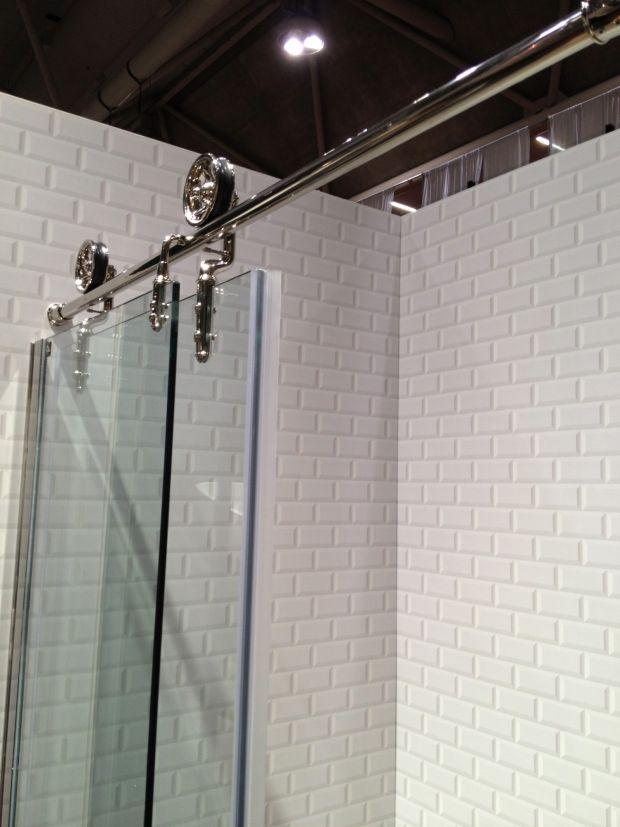 Home Ideas Hardware Barn Hardware As Shower Door
