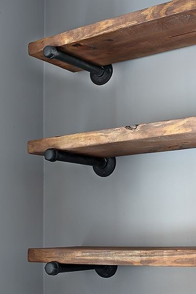 Home Ideas Hardware Rustic Wood Shelving And Furniture