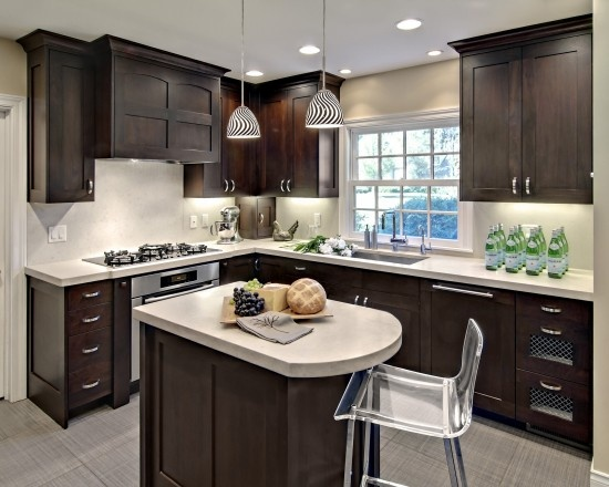 Ideas To Remodel A Small Kitchen Pictures Decor And Design