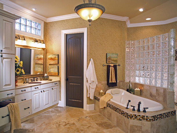 Nice space area for remodeling a small master bathroom for Nice bathroom designs