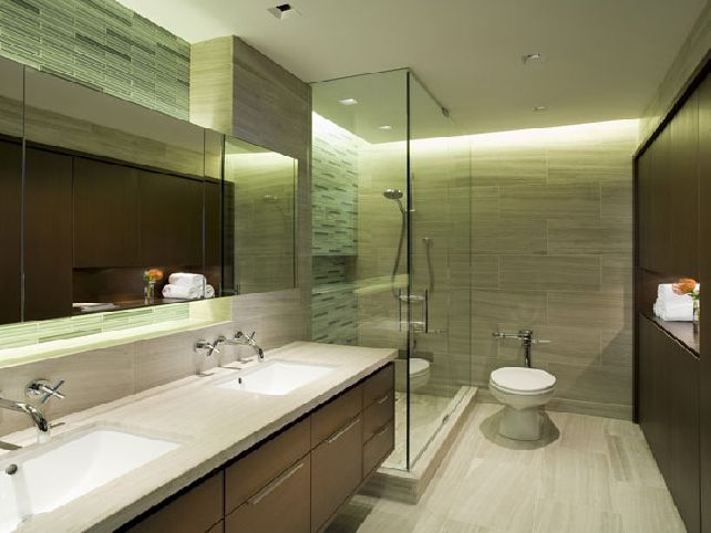 Remodeling Your Master Bathroom With Hight Quality Wall Decor And Double Vanity Sink And Perfect Lighting Image 012