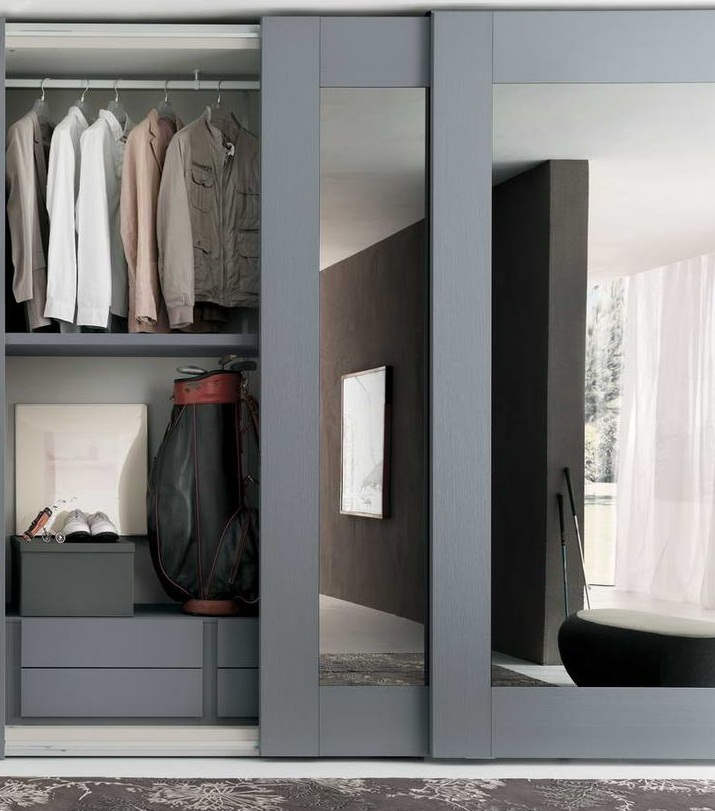 Sliding Mirror Wardrobe - Transform Your Bedroom Instantly  Small ...