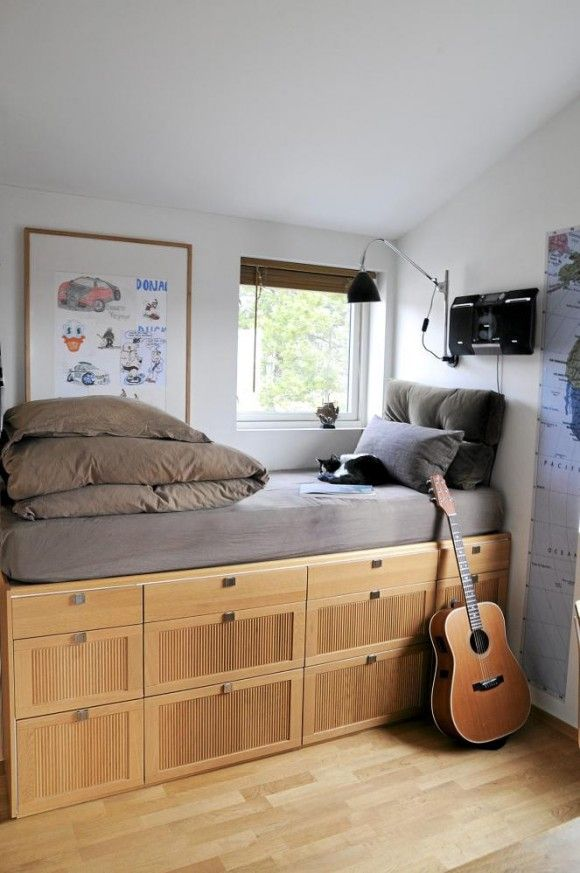 Small Bedroom Decorating Ideas For Tiny House Decoration