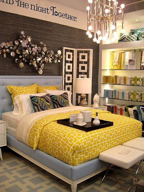 Small Bedroom Decorating Ideas Fun Room With Yellow Schemes