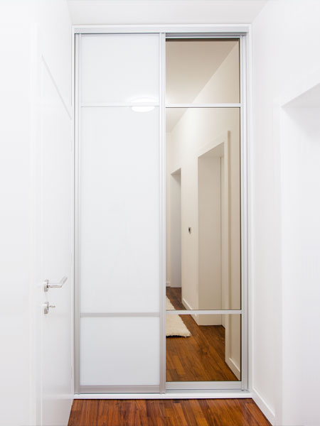 Small Sliding Mirror Wardrobe Doors Ideas