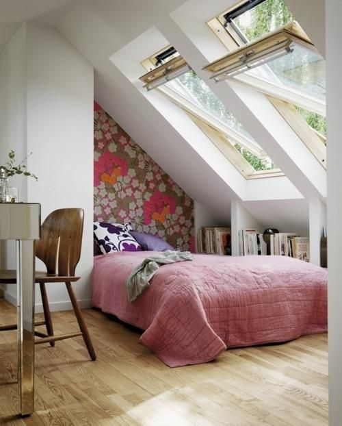 Very Small Attic Bedroom Ideas Images
