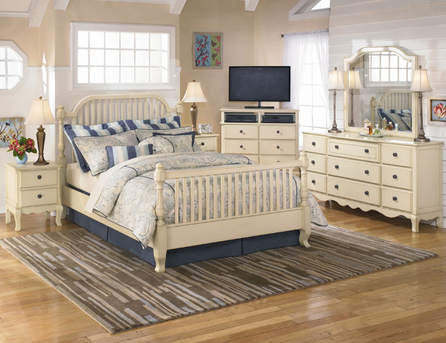 Beautiful Country Style Bedroom Designs Pic