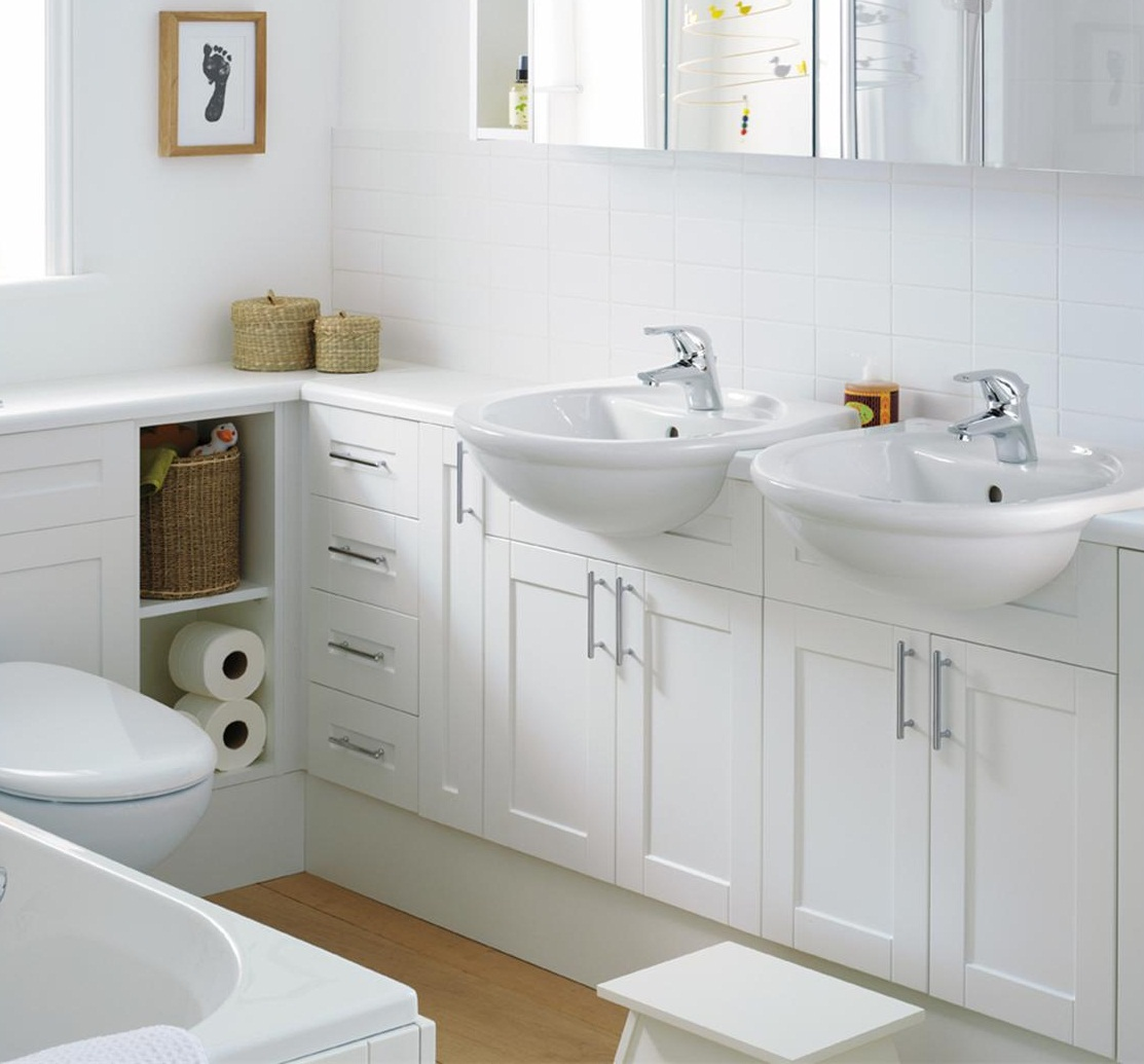 Small Double Sink Bathroom Vanity Ideas : Small double sink vanity ideas room decorating