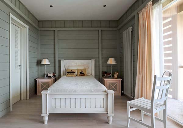 Grey Country Style Bedrooms Decorating Ideas