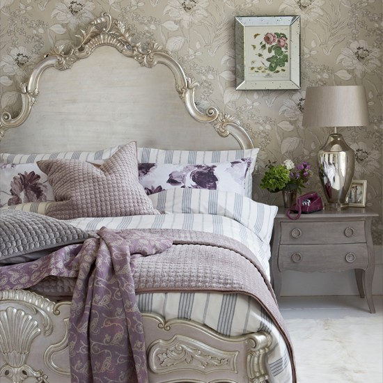 Silver Country Style Bedroom Furniture