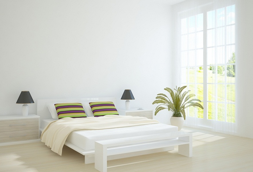 Simple White Bedroom Designs For Relaxing