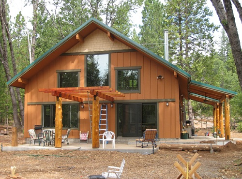 Small Rustic Cabin Plans Images