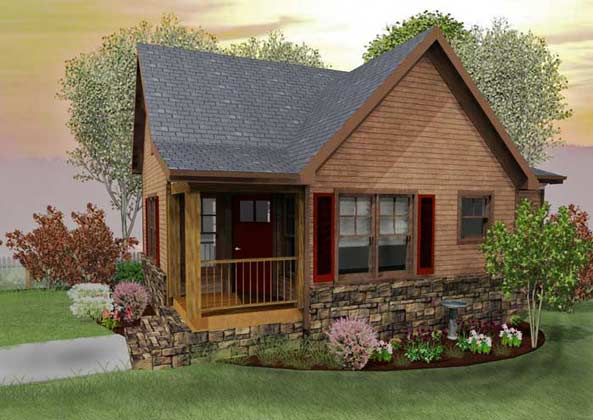 Small Rustic Cabin Plans Pictures