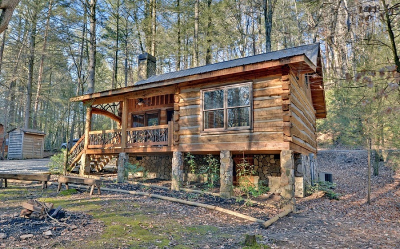 Small Rustic Log Cabin Plans Pictures