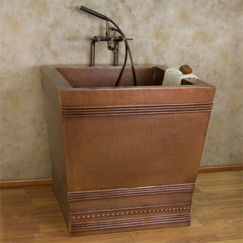 Small Soaker Tub Ideas Square Japanese Soaking Tub