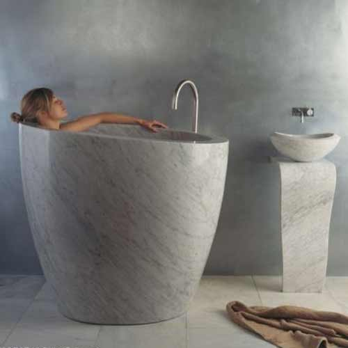Small soaker tub with shower for small bathroom ideas small room decorating ideas - Small soaking tub ...