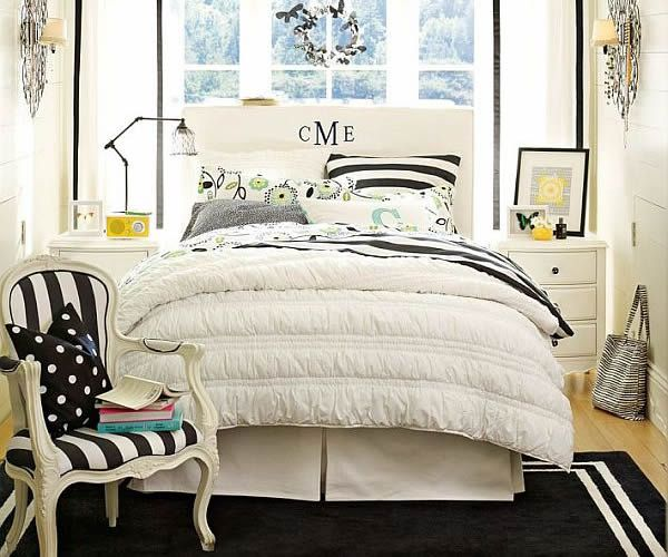 Small White Bedroom Furniture For Teenage Girls