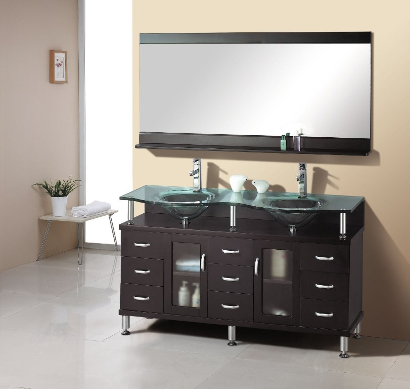 Stylish Small Double Sink Bathroom Vanity Ideas