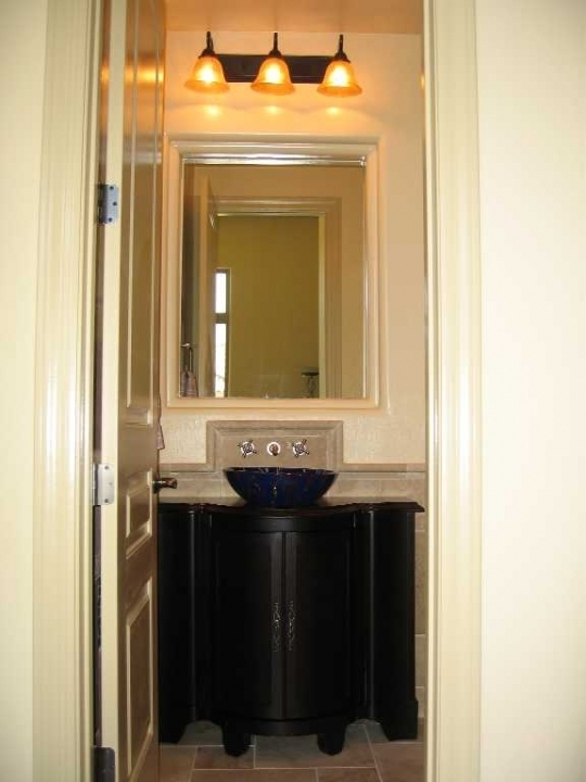 Beautiful small powder room vanities small room for Powder room vanities for small spaces