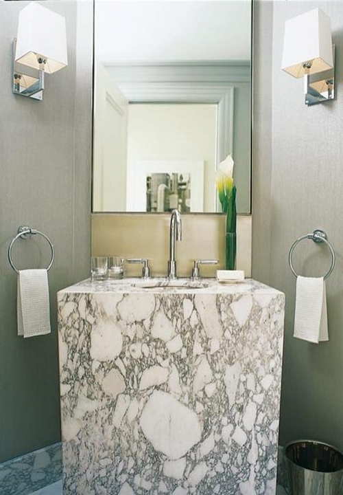 Cosy Small Powder Room Vanities Unique Bathroom Designs
