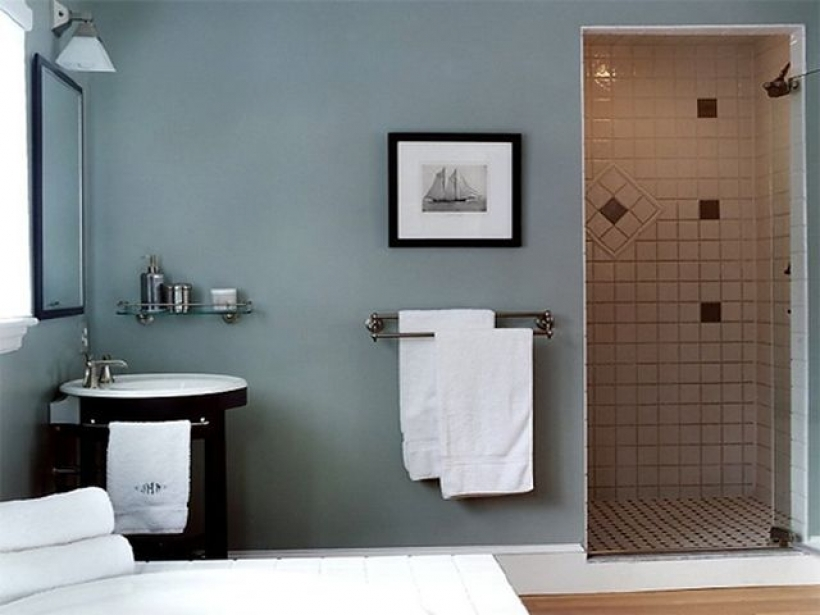 Excellent Small Bathroom Paint Color Ideas Regarding Blue Bathroom Paint Color Ideas Images