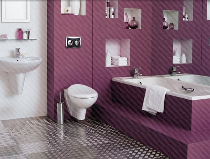 Extraordinary small bathroom paint color ideas with home for Bathroom decorating ideas 2015