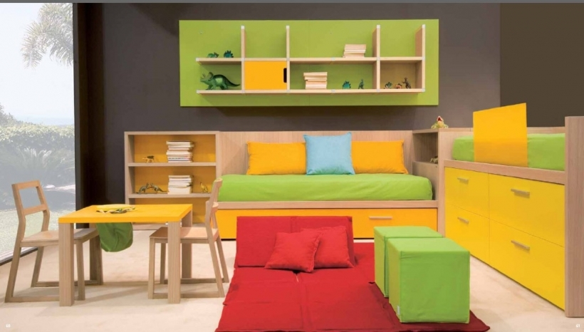 Small bedroom paint color colorful ideas for kid 39 s bedroom for Paint colors for kids bedrooms