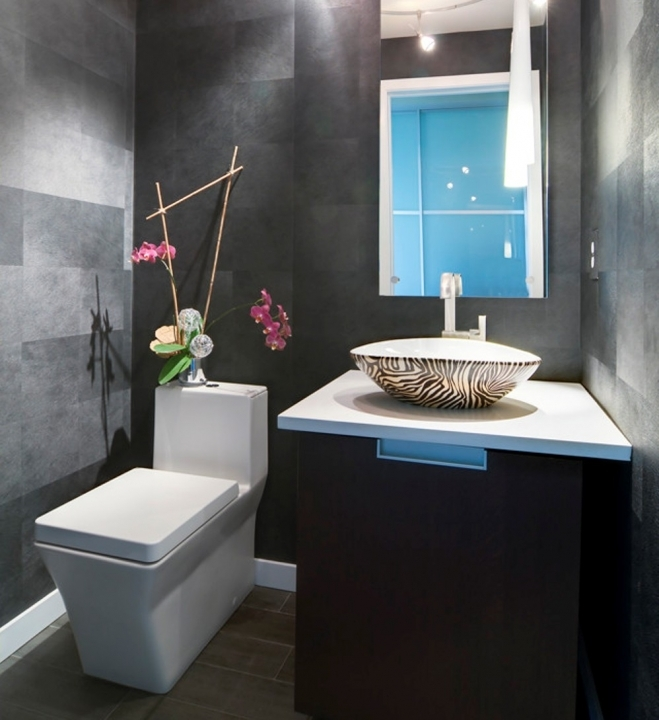 Painting ideas for small white powder room joy studio - Small powder room decorating ideas ...