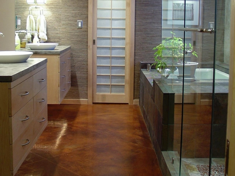 Bathroom Flooring Ideas For Small Bathrooms With Beautiful Design Hilsabeck Hishersvanity