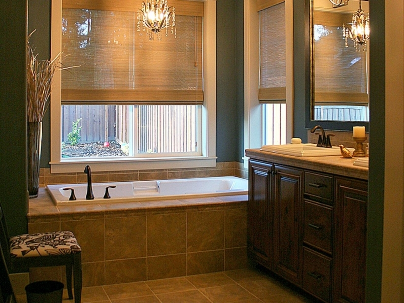 Bathroom Flooring Ideas For Small Bathrooms With Charming Tile Tub Ideas