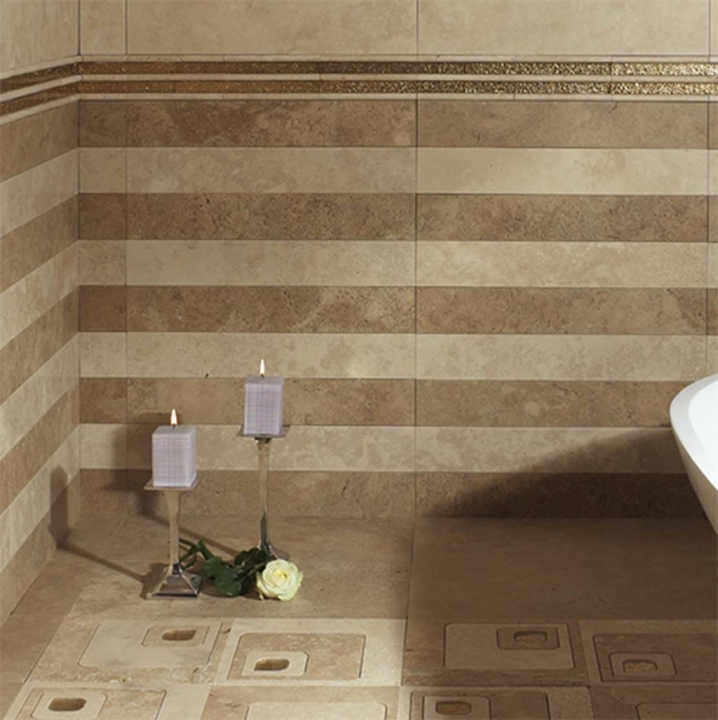 Bathroom Flooring Ideas For Small Bathrooms With Classy Wall Decor