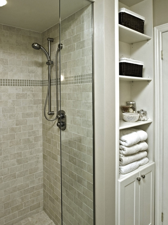 Bathroom Wall Tile Ideas Glass Shower Cabin Parittion Walls Shower Head Ceramic