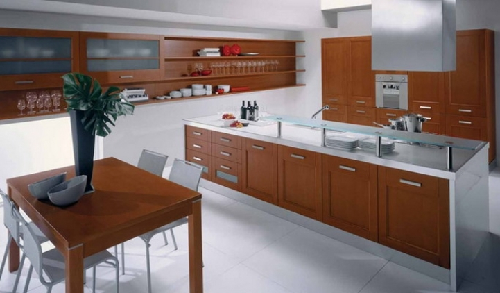 Kitchen Cupboard Designs For Small Kitchens With Outstanding Modern Elegant Solid Wooden Kitchen Cabinets 2907