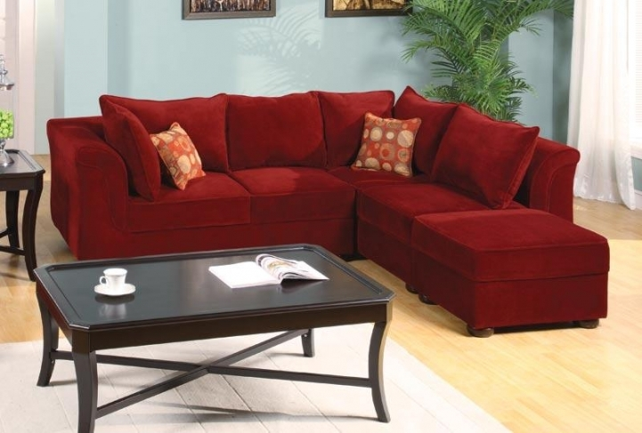 Red Sectional Sofa Bed For Small Spaces With Delightful Modular Upholstery Sectional Sofa Bed In Living Room 1410
