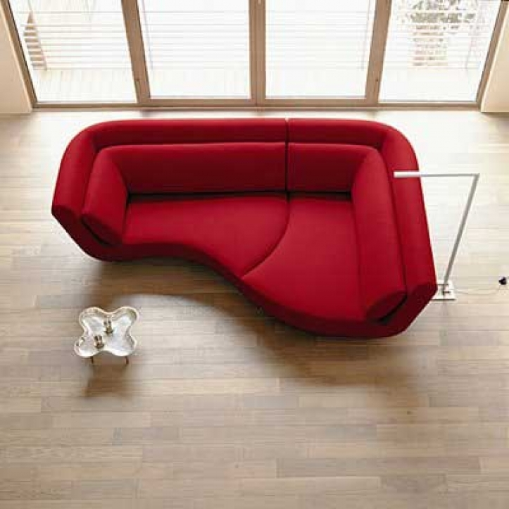 Red Sectional Sofa Bed For Small Spaces With Outstanding