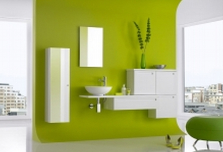 Small Bathroom Paint Colors Inside Astonishing Green Bathroom Painting Ideas 0069