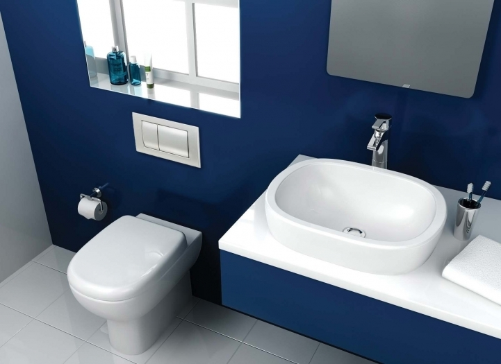 Small Bathroom Paint Colors With Cozy Blue Bathroom Paint Decorating Ideas Simple Design 8501