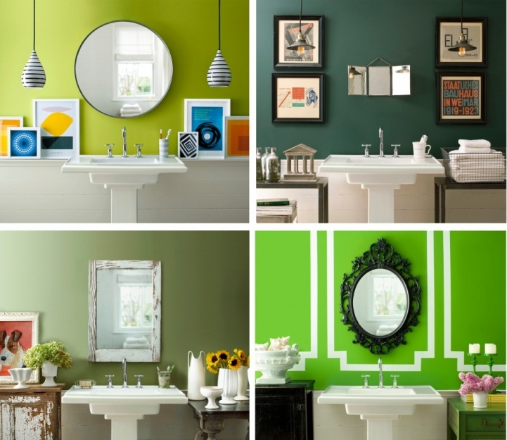 Small Bathroom Paint Colors Within Lovely Color Schemes For Bathroom