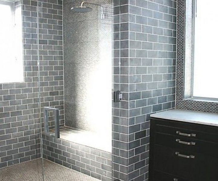 Subway Tile For Small Bathroom Remodeling Gray Subway Tiles Home Decorations 9720
