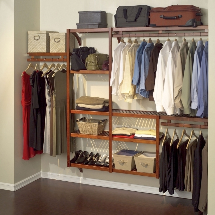 Small Closet Ideas Furniture With Storage And Simple Freestanding Closet Racks Images