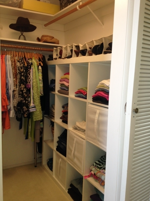 Small Closet Organization Ideas Walk In Closet Home Design Ideas Pic