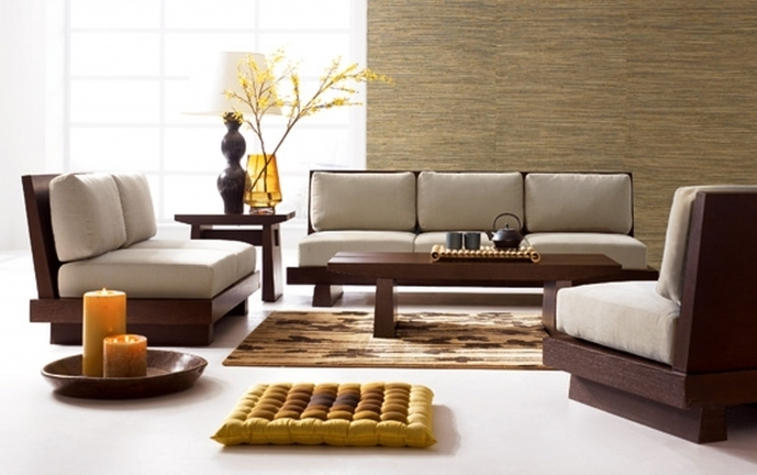 Ashley furniture living room ideas decorating modern for Modern living room designs small spaces