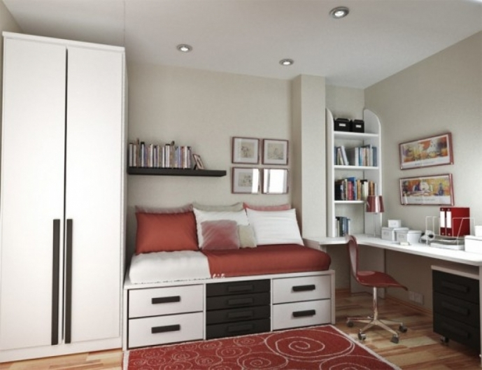 Bedroom Built In Furniture For Small Rooms Regarding Lovely Teenage Girl Bedroom Ideas 87