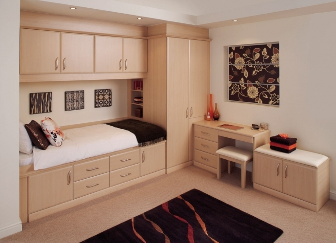 Built In Bedroom Furniture For Small Rooms Within Stunning Standard Design 76