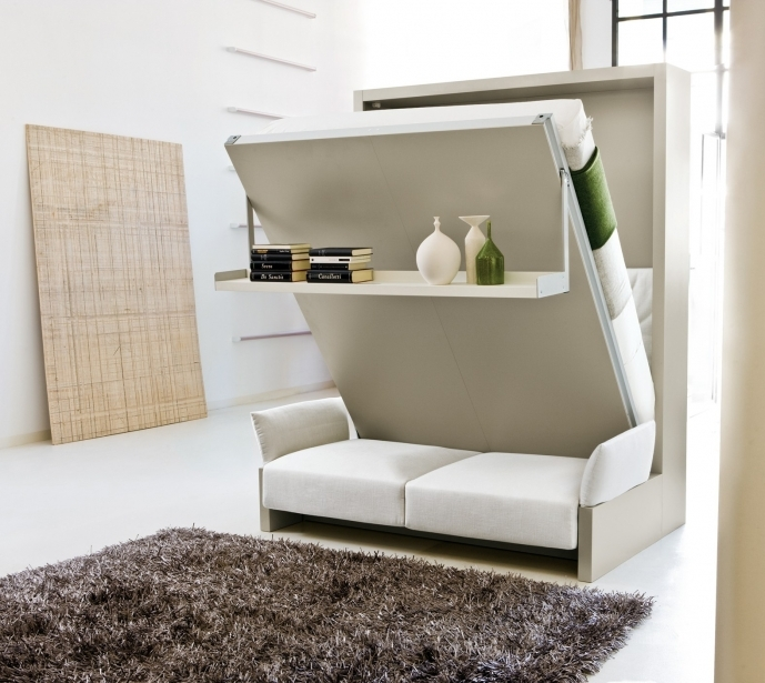 Fitted Bedroom Furniture For Small Rooms Inside Amazing Murphy Bed Depot Adorable Hidden Storage Sofa Bed 16